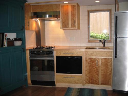 kleine küche design idee