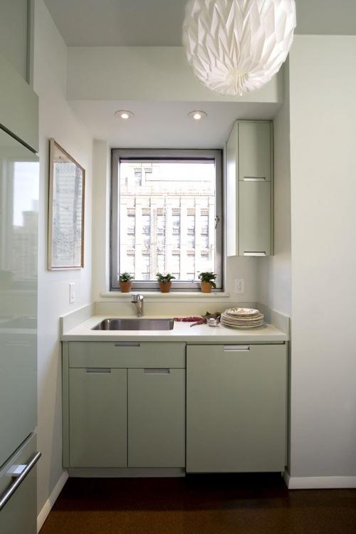 kleine Küchen Designs kompakt blass grün küchenschrank spülbecken