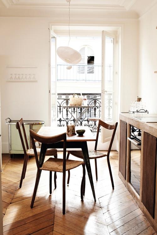 kleine Küchen Designs kompakt essbereich