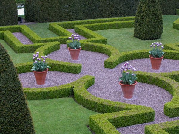 labyrinthe garten gestalten design idee landschaft