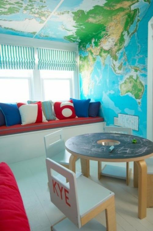 Kinderzimmer kleinkind  Spielzimmer Design Ideen - 15 fantastische Kinderzimmer Interieurs