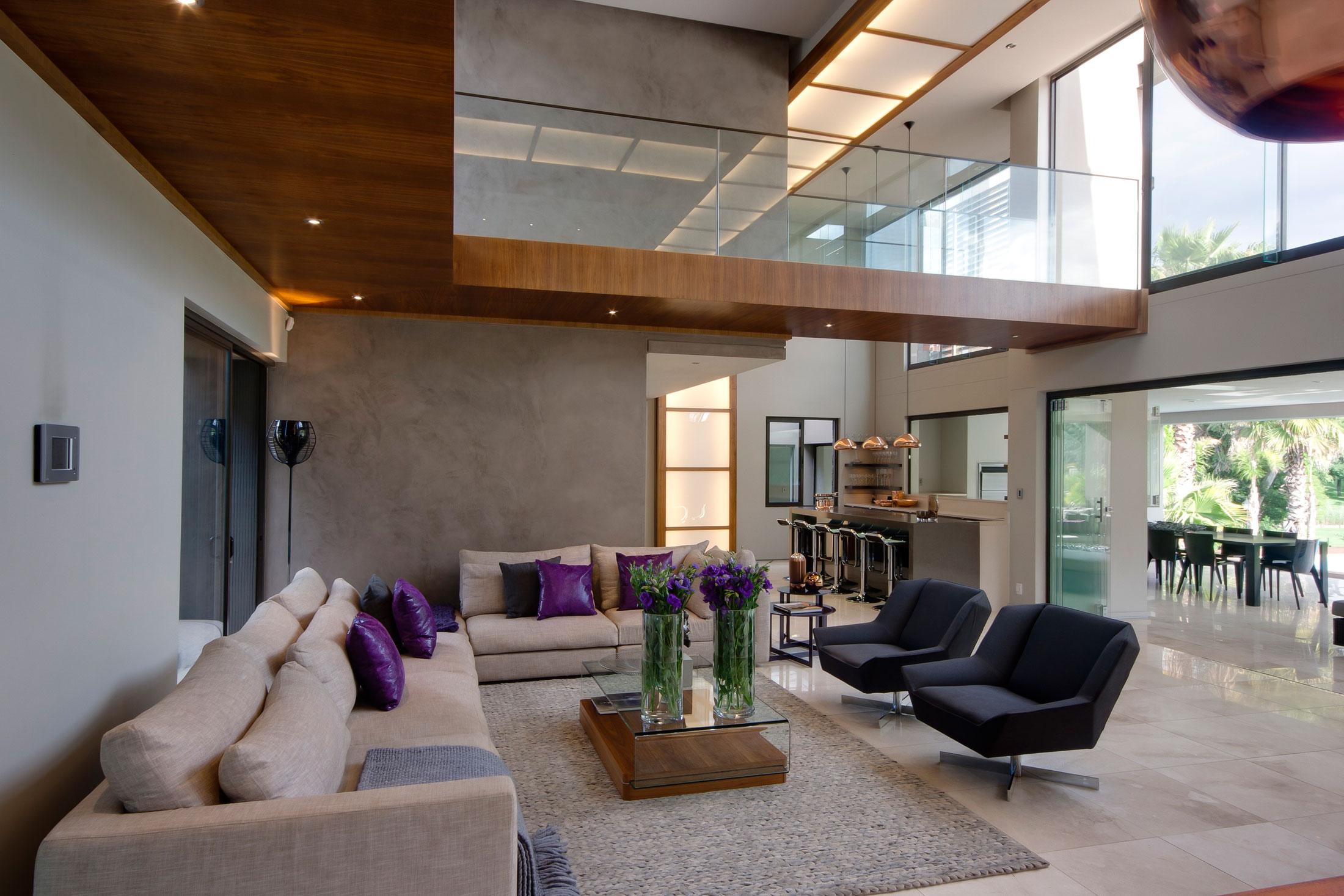 70 moderne, innovative luxus interieur ideen fürs wohnzimmer - Moderne Wohnzimmer Lila