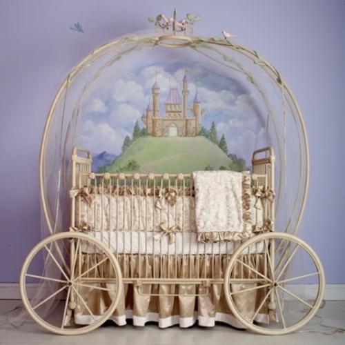 Kutschenbett Im Kinderzimmer - 14 Coole Ideen Für Schicke Ausstattung Ideen Fr Wnde Im Kinderzimmer