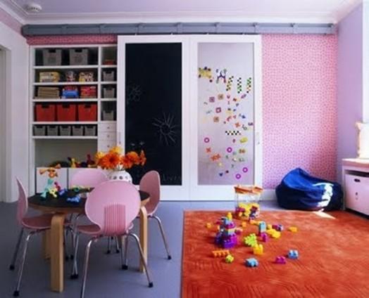 magnettafel im kinderzimmer 10 praktische und n tzliche ideen. Black Bedroom Furniture Sets. Home Design Ideas