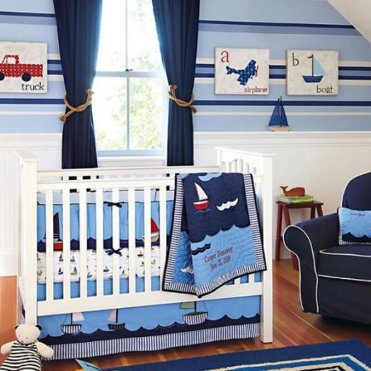 18 marine zimmer interieurs für jungen - thematische ideen, Schlafzimmer design
