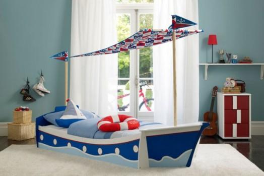 18 marine zimmer interieurs f r jungen thematische ideen for Boys bedroom ideas uk