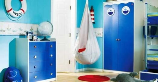 Marine Zimmer Interieurs fröhliche farben