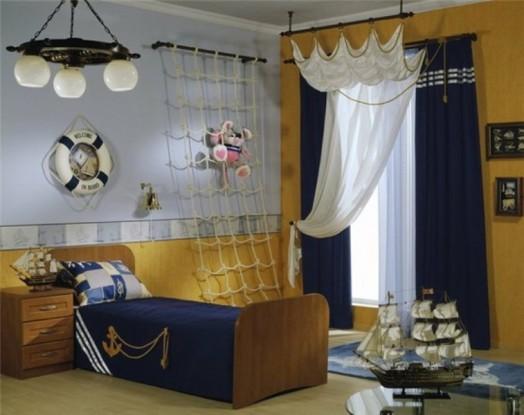 Netz Kinderzimmer 18 marine zimmer interieurs für jungen thematische ideen