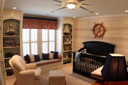 marine zimmer design interieur steuerrad