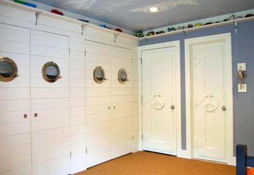 marine zimmer interieur ausstattung weiße türe