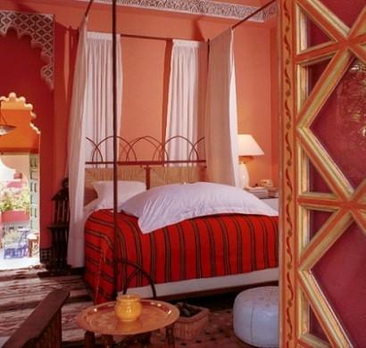 marokkanische schlafzimmer deko ideen 15 interieurs aus. Black Bedroom Furniture Sets. Home Design Ideas