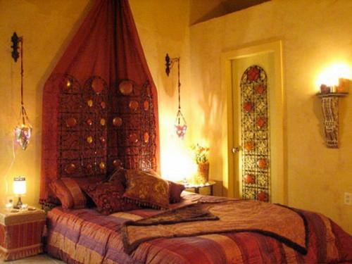 Tapeten Orientalisches Design : Moroccan Bedroom Design Ideas