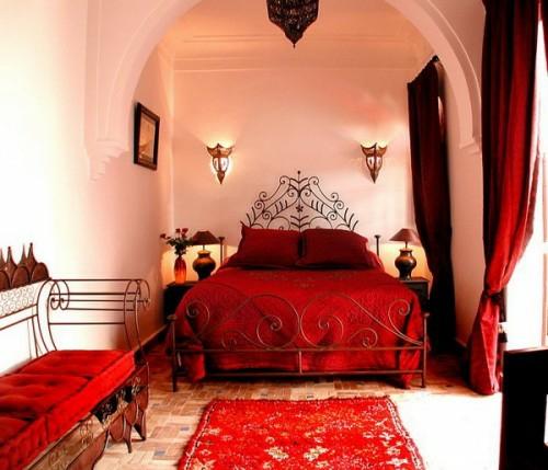 marokkanische schlafzimmer deko ideen - 15 interieurs aus dem orient, Modernes haus