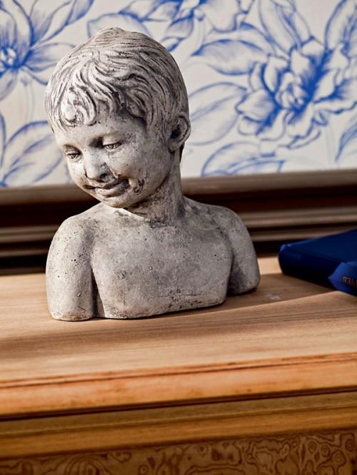 modell statue brust wohnzimme design kontraste