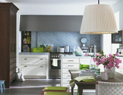 moderne gemütliche kreative Küchenspiegel Ideen design