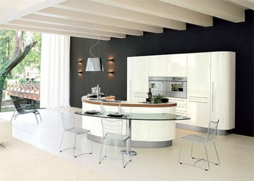 Moderne Küchen Interieurs - 10 erstaunliche originelle Ideen