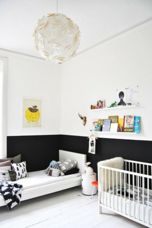 modernes kinderzimmer interieur kompakte design idee. Black Bedroom Furniture Sets. Home Design Ideas