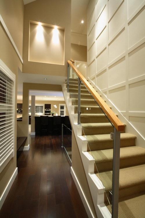 modisch treppen vorleger design idee zuhause