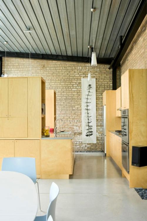 modul ordnungssystem küche esszimmer blaue küchenmöbel Küchen Grundrisse