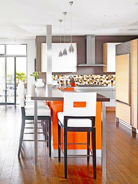 15 farbenfrohe k cheninsel ideen f r ihre wohnung. Black Bedroom Furniture Sets. Home Design Ideas
