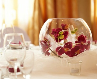 tischdeko mit orchideen veredeln ihren festtag. Black Bedroom Furniture Sets. Home Design Ideas
