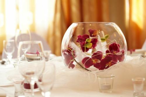 Tischdeko mit Orchideen veredeln Ihren Festtag