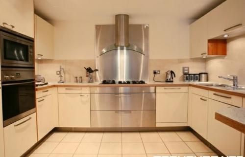 p-förmig küche modern zeitgenössisch glanzvoll küchenmöbel