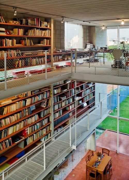 perfekte einrichtung der hausbibliothek eingebaut übergroß originell