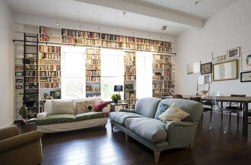 Kreative einrichtungsideen büro  Kreative Ideen für die perfekte Einrichtung der Hausbibliothek