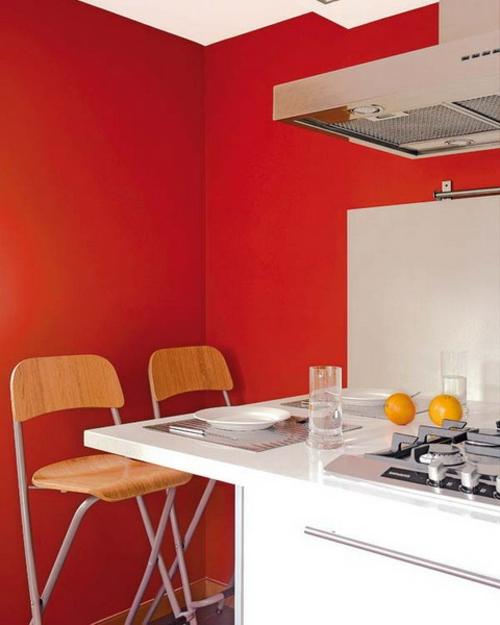 10 praktische esstisch ideen f r ihre kompakte k che. Black Bedroom Furniture Sets. Home Design Ideas