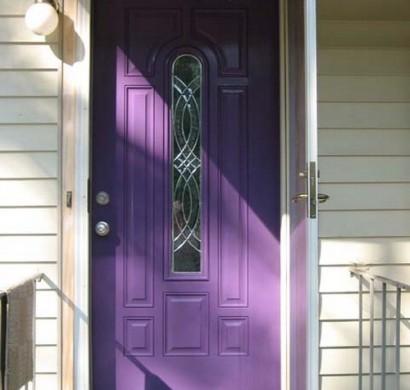 12 erlesene haust rdesigns in purpurfarbe. Black Bedroom Furniture Sets. Home Design Ideas