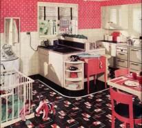 17 Retro Küchen Designs – Einrichtungstipps und Ideen