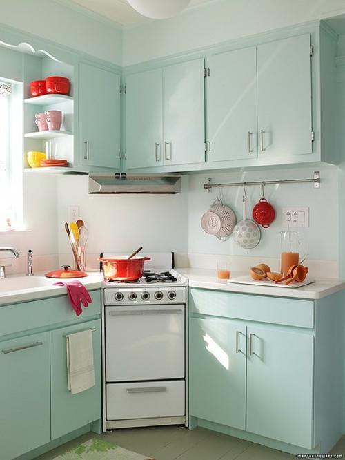 retro küchen designs einrichten ausstatten