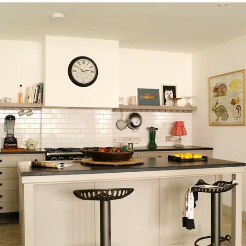 retro küchen designs einrichten weiß farbe
