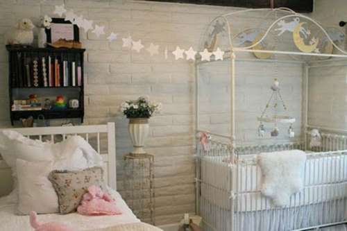 Romantisches Klassisches Kinderzimmer Originelle Deko Idee