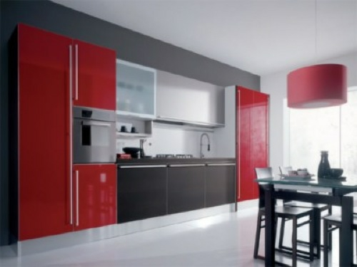 Küche : küche modern rot Küche Modern Rot - Küche Modern' Küches