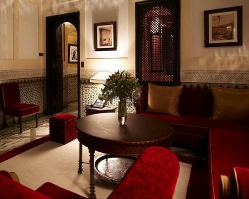 wohnzimmer und kamin : moderne marokkanische wohnzimmer, Wohnzimmer