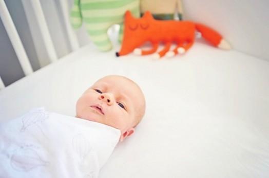 säugling kinderzimmer interieur bequem gemütlich sauber