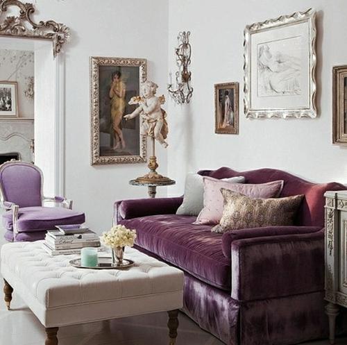 samtsofa sessel weiss tisch glänzend barock luxus