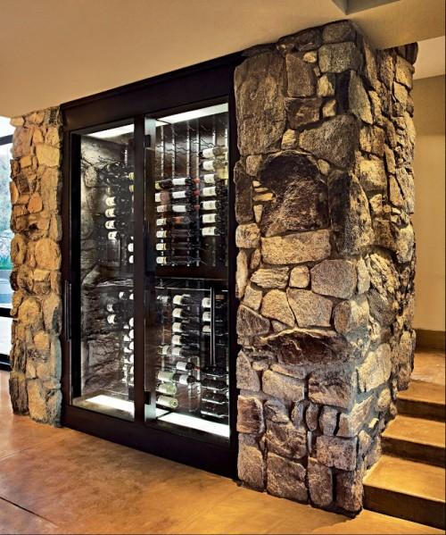 Stone Luxury Home Designs: 5 Attraktive Vorschläge Für Einen Schönen Weinkeller Im Haus