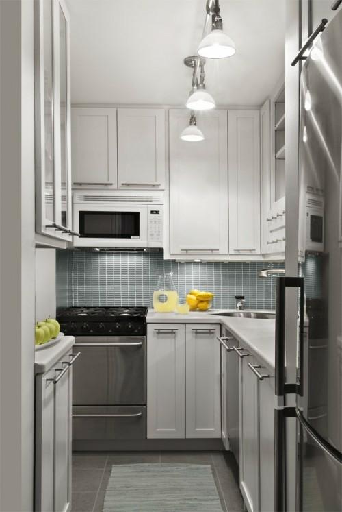25 schicke design ideen f r kleine k che n tzliche vorschl ge. Black Bedroom Furniture Sets. Home Design Ideas