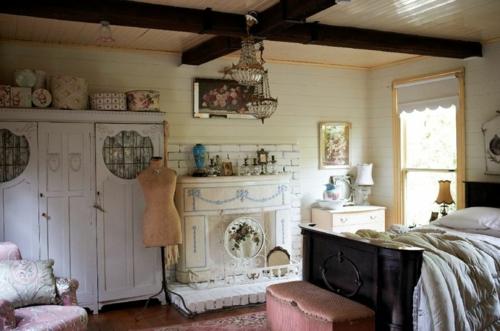 weiße möbel schneiderpuppe Mädchen Schlafzimmer im Shabby-Chic-Stil