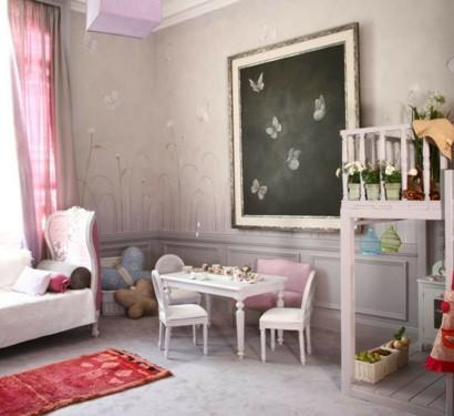 Mädchen Schlafzimmer im Shabby-Chic-Stil - Dekoration Diy