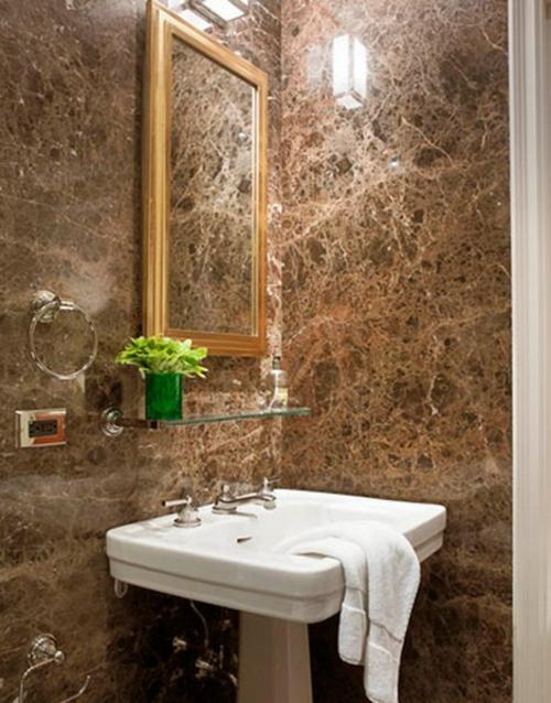 spiegel rahmen idee badezimmer design deko