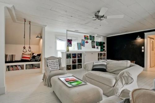 spielzimmer wohnzimmer bequem angenehm design idee