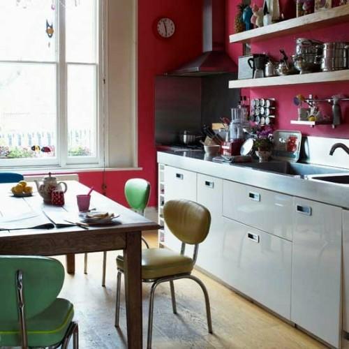stühle tisch küche design interieur idee einrichten
