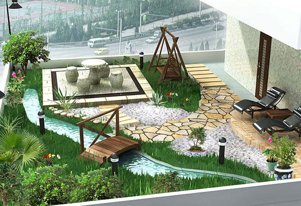 stein tisch sthl idee gartendesign liegestuhl - Idee Gartengestaltung