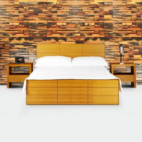 stilvolle wanddekoration aus echtholz extravagant originell