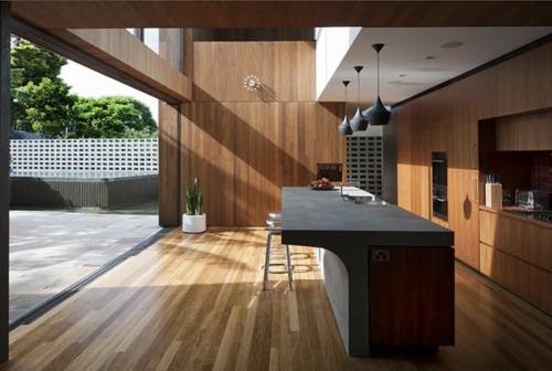 Stilvolle wanddekoration aus echtholz originelle und for Küchen wanddekoration