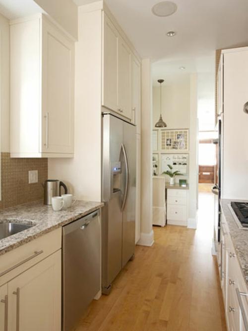 tipps ihre kleine küche weiß kompakt schmal
